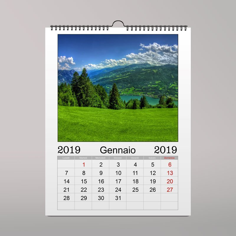Calendari multipagina da parete