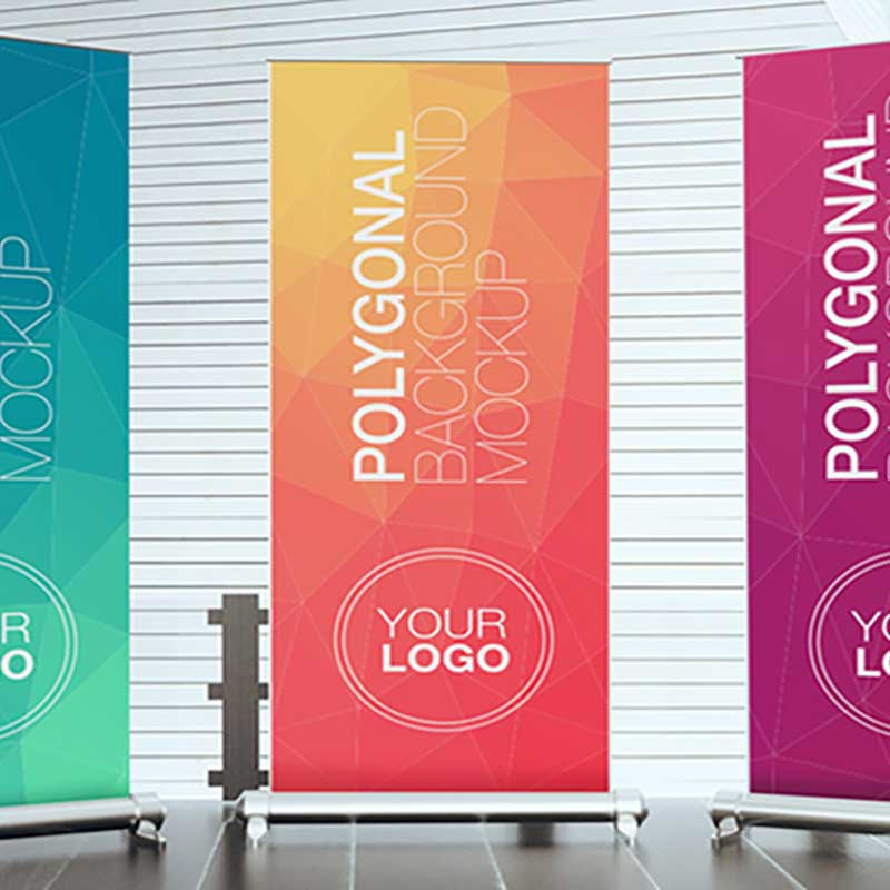 Banner Roll-Up pubblicitari